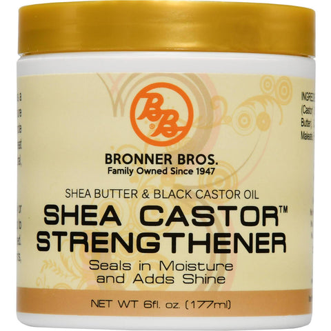 B&B Shea Castor Strengthener 6 Oz - All Products - Express Beauty USA