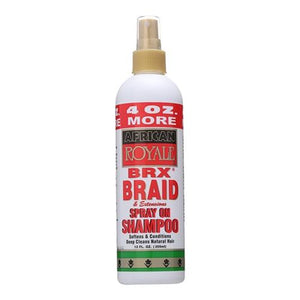 B&B African Royale BRX Braid Spray On Shampoo, 12 Oz - All Products - Express Beauty USA