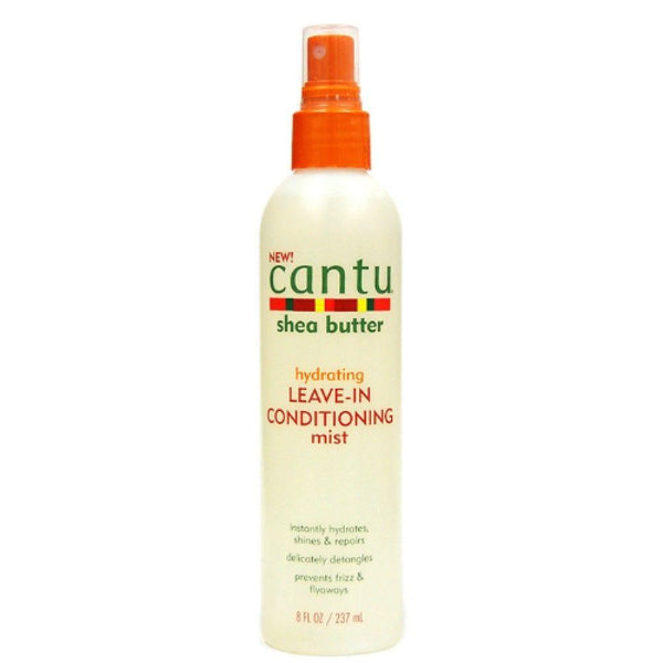 Cantu Shea Butter HYDRATING LEAVE-IN CONDITIONING MIST 8 Oz - All Products - Express Beauty USA