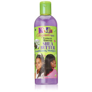 Africa's Best Kids Originals Ultimate Moisture SHEA BUTTER Conditioning Shampoo 12 Oz - Kid's Care - Express Beauty USA