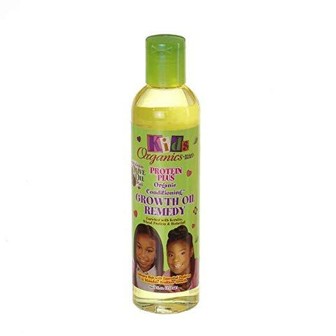 Africa's Best Kids Organics Protein Plus Growth Oil Remedy 8 Oz - Kid's Care - Express Beauty USA