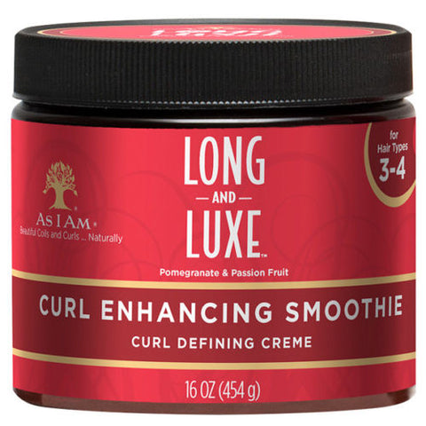 As I Am Long and Luxe CURL ENHANCING SMOOTHIE- DEFINING 16 Oz - All Products - Express Beauty USA