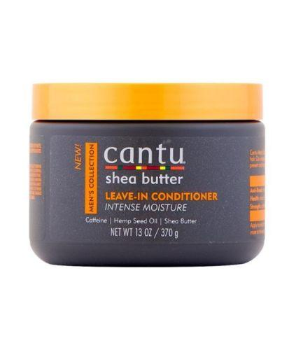 Cantu Mens Shea Butter LEAVE-IN CONDITIONER INTENSE MOISTURE 13 Oz - Men's Care - Express Beauty USA
