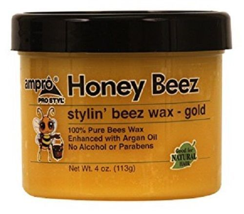 Ampro Honey Beez Stylin' Beez Wax, 4 Oz. - All Products - Express Beauty USA