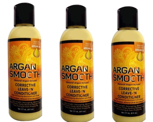 Argan Smooth CORRECTIVE LEAVE-IN CONDITIONER 6 Oz - All Products - Express Beauty USA
