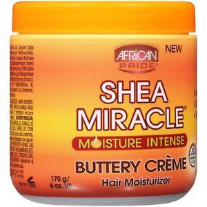 African Pride Shea Miracle Buttery Creme 6 Oz - All Products - Express Beauty USA