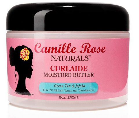 Camille Rose Naturals CURLAIDE MOISTURE BUTTER Green Tea & Jojoba 8 Oz - All Products - Express Beauty USA