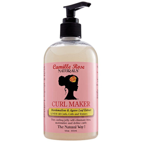 Camille Rose Naturals Curl Maker Marshmallow and Agave Leaf Extract 12 Oz - All Products - Express Beauty USA