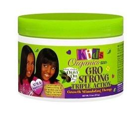 Africa's Best Kids Organic GRO STRONG Triple action 7.5 Oz - Kid's Care - Express Beauty USA