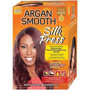 Argan Smooth SILK PRESS THERMAL STRENGTHENING SYSTEM - All Products - Express Beauty USA