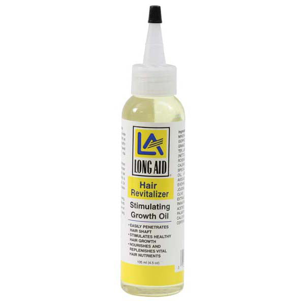 Long Aid Hair Revitalize GROWTH OIL-STIMULATING 4 OZ