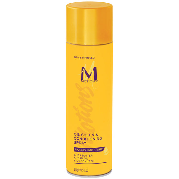 MOTIONS OIL SHEEN & CONDITIONER SPRAY 11.25 OZ