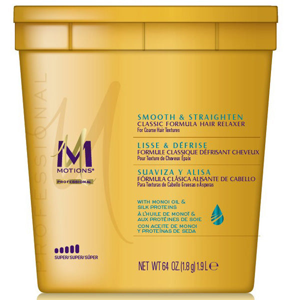 MOTIONS HAIR RELAXER Smooth & Silken 4 LBS [PACKAGE'S LOOK VARY]