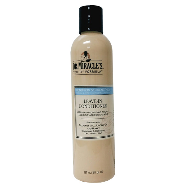 Dr. Miracle's cleans & conditions LEAVE-IN CONDITIONER 8 Oz
