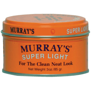 MURRAYS H/DRESSING POMADE-SUPER LIGHT 3 OZ