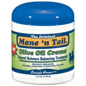 MANE 'N TAIL OLIVE OIL CREAM Natural Moisture Balancing Treatment 5.5 Oz