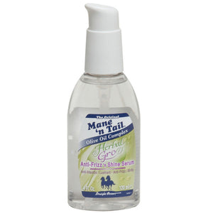 MANE 'N TAIL HERBAL GRO ANTI FRIZZ SHINE SERUM 4 OZ
