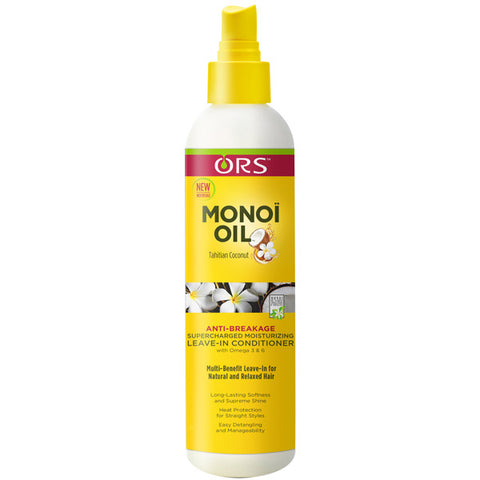 ORS MONOI OIL MOISTURIZING LEAVE-IN CONDITIONER 8 OZ