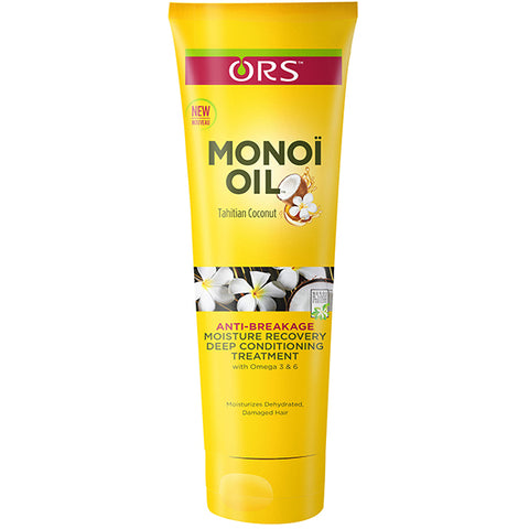 ORS MONOI OIL MOISTURE RECOVERY DEEP CONDITIONING TREATMENT. 8 OZ