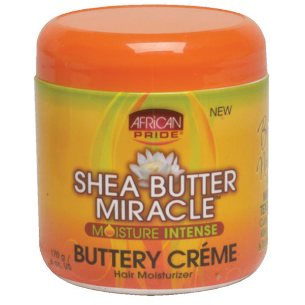 African Pride Shea Miracle Buttery Creme 6 Oz