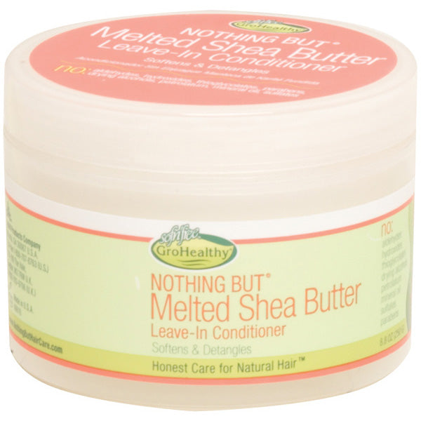 SOFNFREE NOTHING BUT MELTED SHEA BUTTER 8.8 OZ