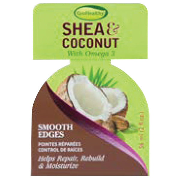 SOFNFREE SHEA&COCONUT EDGE GEL 2 OZ