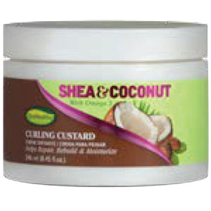 SOFNFREE SHEA&COCONUT CURL CUSTARD 8.8 OZ