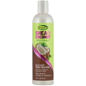SOFNFREE SHEA&COCONUT FLAT OUT FRIZZ FIGHTER 8 OZ