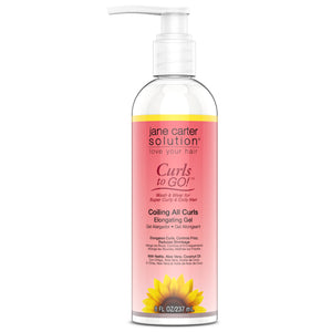Jane Carter Solution Curls To Go COILING ALL CURL Elongating Gel 8 Oz