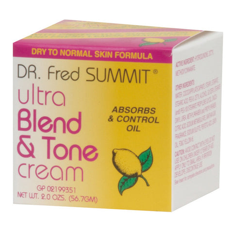 Dr. Fred Summit BLEND & TONE-DRY TO NORMAL SKIN 2 OZ *