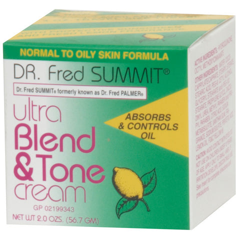Dr. Fred Summit BLEND & TONE CREAM NORMAL TO OILY SKIN 2 OZ