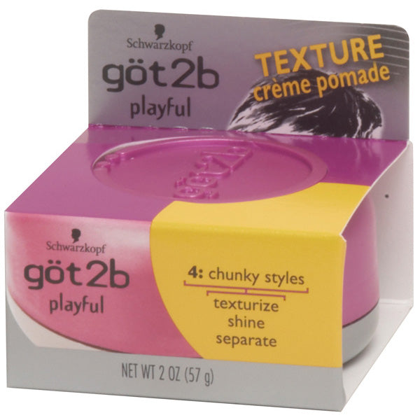 GOT 2 BE PLAYFUL TEXTURIZING CREME POMADE 2 OZ