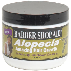 BARBER SHOP AID ALOPECIA HAIR GROWTH 4 OZ