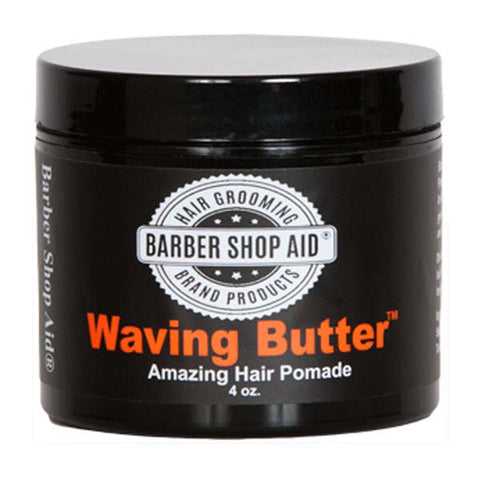 BARBER SHOP AID WAVING BUTTER POMADE 4 OZ