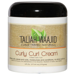 TALIAH WAAJID B/EARTH CURLY CURL CREAM 6 OZ