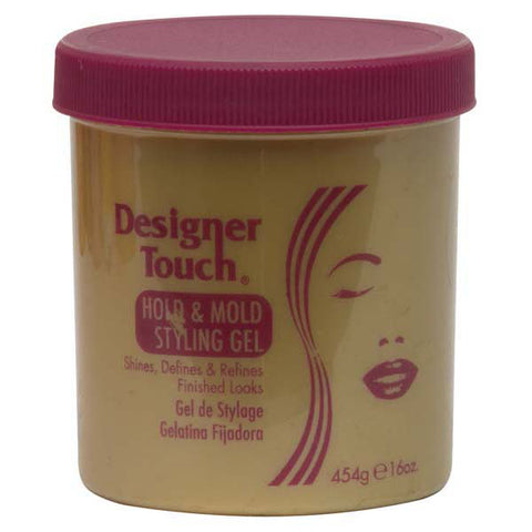 DESIGNER TOUCH HOLD & MOLD STYLING GEL 14 OZ