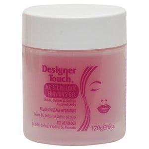 DESIGNER TOUCH MOISTURE LOCK FINISHING GEL 6 OZ