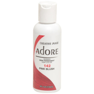Adore Semi Perm 142 PINK BLUSH 4 Oz - Hair Color - Express Beauty USA