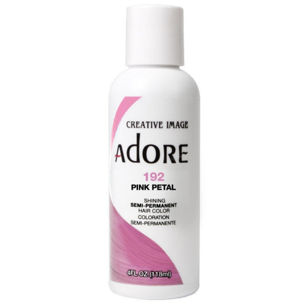 Adore Semi Perm 192 PINK PETAL 4 Oz - Hair Color - Express Beauty USA