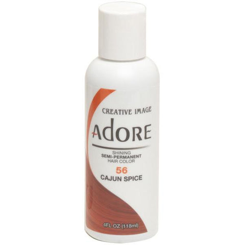 Adore Semi Perm 56 CAJUN SPICE 4 Oz - Hair Color - Express Beauty USA