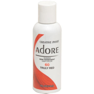 Adore Semi Perm 60 TRULY RED 4 Oz - Hair Color - Express Beauty USA