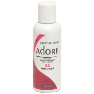 Adore Semi Perm 82 PINK ROSE 4 Oz - Hair Color - Express Beauty USA