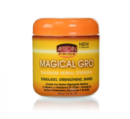 African Pride Magical gro MAXIMUM HERBAL STRENGTH 5.3 Oz - Hair Care Products - Express Beauty USA