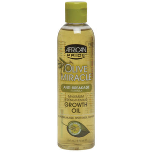 African Pride Olive Miracle MAXIMUM STRENGTH GROWTH OIL 8 Oz - Skin Care - Express Beauty USA