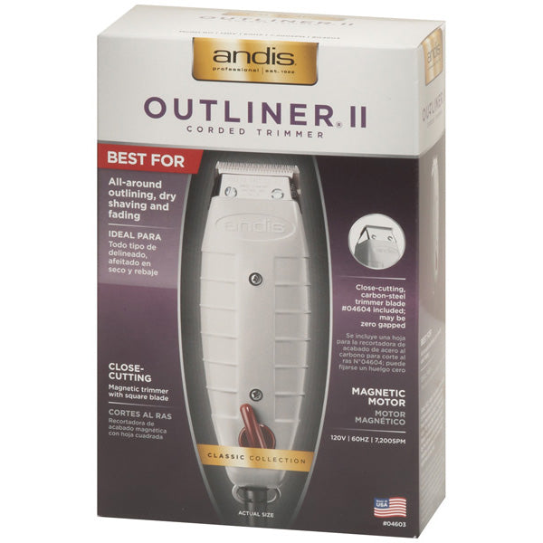 ANDIS 04603 OUTLINER II TRIMMER