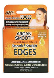 Argan Smooth & STRAIGHT EDGES 100% PURE ARGAN 2.5 Oz - Hair Styling - Express Beauty USA