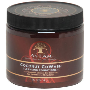 As I Am COCONUT CO-WASH CLEANSING CONDITIONER, 16 Oz. - All Products - Express Beauty USA