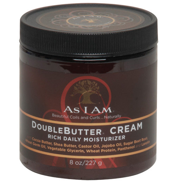 As I Am Naturally DOUBLE BUTTER CREAM RICH DAILY MOISTURIZER - All Products - Express Beauty USA