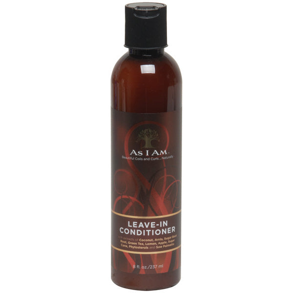As I Am Naturally LEAVE-IN CONDITIONER, 8 Oz. - All Products - Express Beauty USA