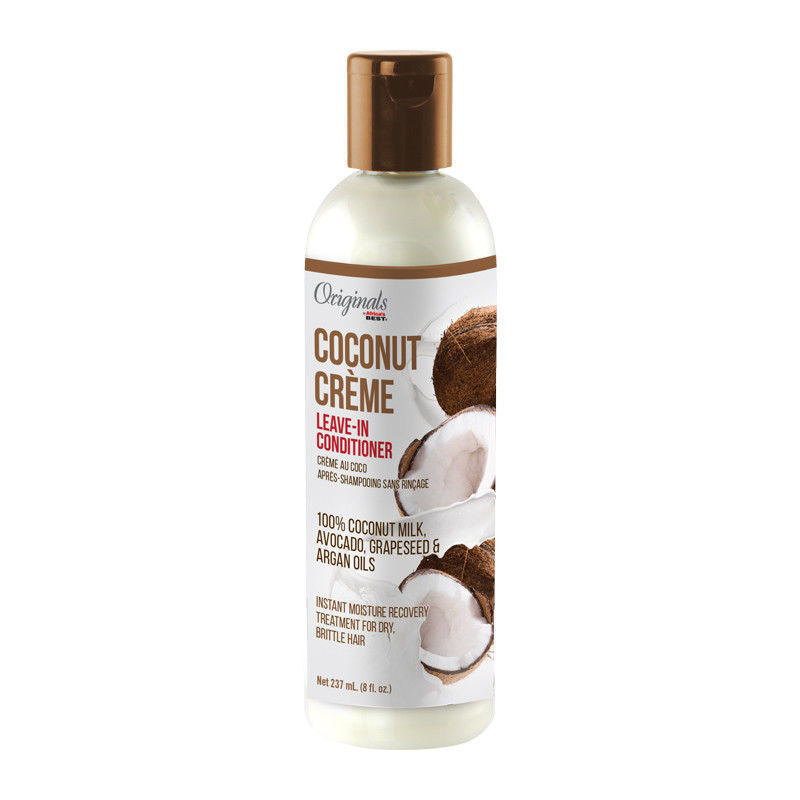 Africa's Best Originals Coconut Creme LEAVE-IN CONDITIONER 100% COCONUT 8 Oz - Conditioner - Express Beauty USA